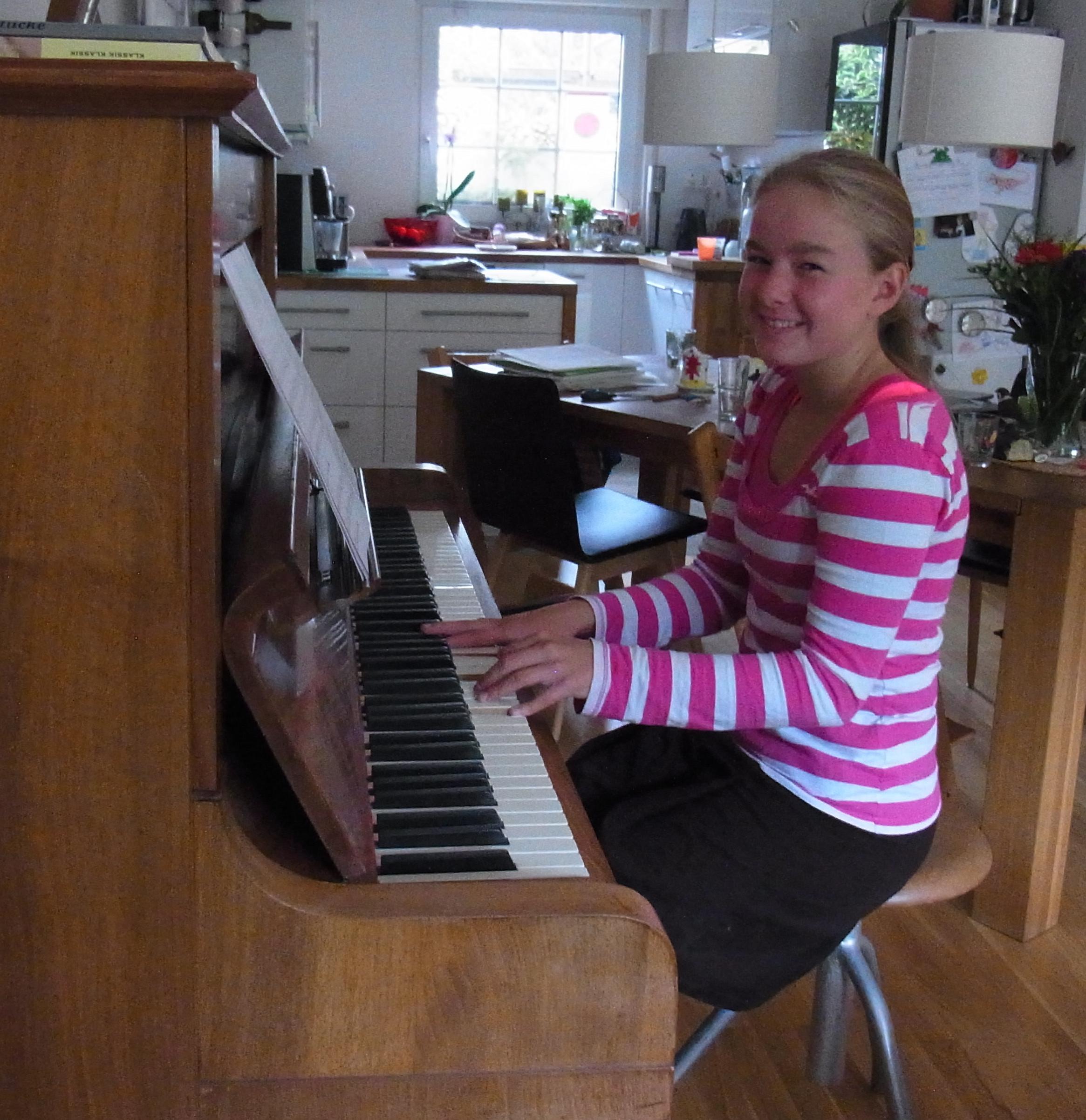 zweifeln beim klavierspielen